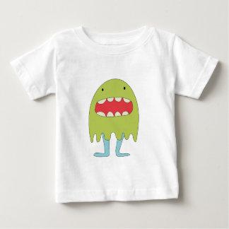 El monstruo verde ríe =) baby T-Shirt