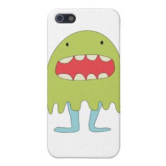 El monstruo verde ríe =) case for iPhone SE/5/5s