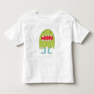 El monstruo verde ríe =) toddler t-shirt