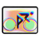 El montar en bicicleta artsy tapas de tráiler