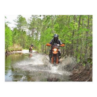 El montar en la Florida Dirtbike Postales