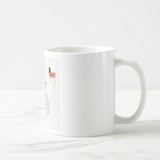El montar taza de café