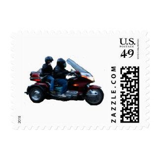 El montar timbre postal