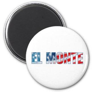 El Monte 2 Inch Round Magnet