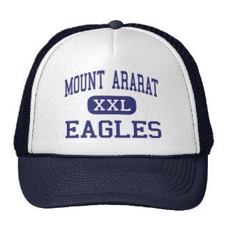 El monte Ararat - Eagles - altos - Topsham Maine Gorras