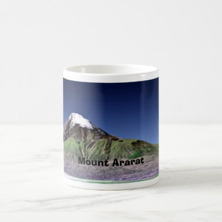 El monte Ararat Taza Básica Blanca