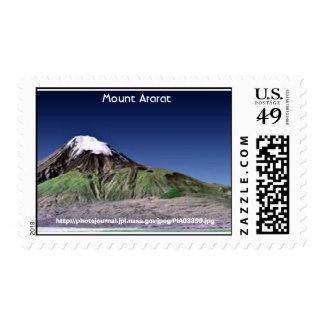 El monte Ararat Timbres Postales