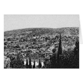 El monte Carmelo, CA 1900 Tarjeta De Felicitación
