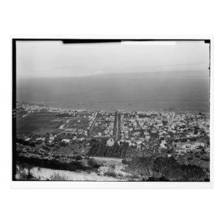 El monte Carmelo, Haifa, CA 1922 Postal