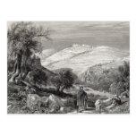 El monte de los Olivos, del monte Sion Postales