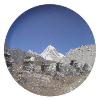 El monte Everest 9 Plato Para Fiesta