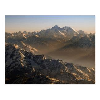 El monte Everest, montañas de Himalaya, Asia Postal