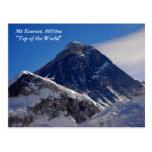 El monte Everest Postales