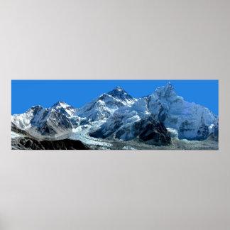 El monte Everest Póster