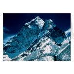 El monte Everest Tarjeta De Felicitación