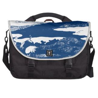 El monte Fuji azul Bolsas De Portátil