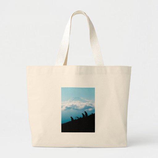 El monte Fuji Bolsa De Mano