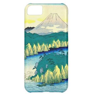 El monte Fuji del lago 1858 Hakone Funda iPhone 5C