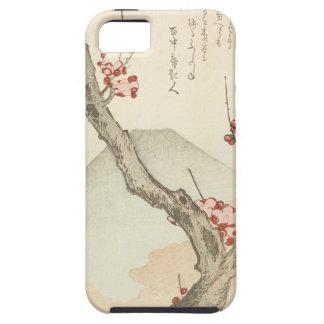 El monte Fuji detrás de un árbol de ciruelo Funda Para iPhone 5 Tough