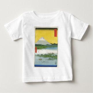 El monte Fuji en Japón circa 1800's Playera De Bebé
