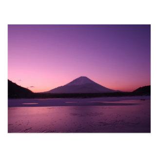 El monte Fuji fantástico Tarjeta Postal
