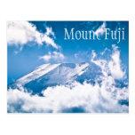 El monte Fuji, Japón Postales