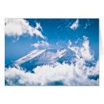 El monte Fuji, Japón Tarjeta De Felicitación