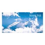 El monte Fuji, Japón Tarjetas Fotográficas