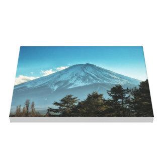 El monte Fuji Lona Estirada Galerias