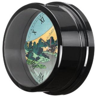 El monte Fuji refleja Reloj Aquavista