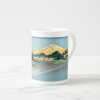 El monte Fuji refleja Taza De Porcelana