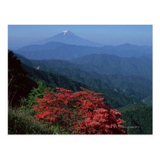 El monte Fuji Postal