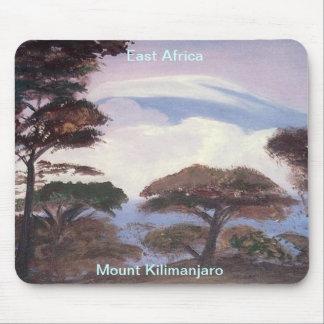 El monte Kilimanjaro Mousepad Tapetes De Ratón