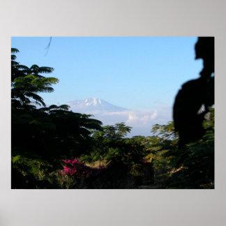 El monte Kilimanjaro Póster