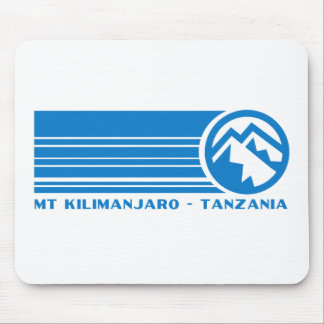 El monte Kilimanjaro Tanzania Alfombrilla De Ratones