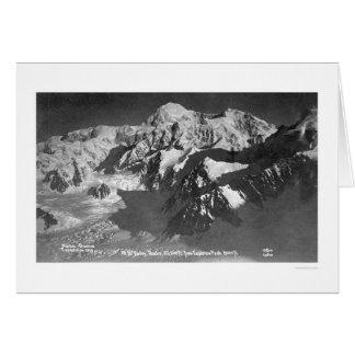 El monte McKinley Alaska 1910 Felicitacion