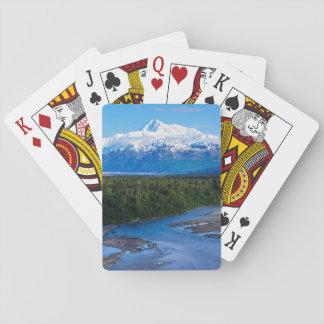 El monte McKinley Alaska Naipes