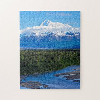 El monte McKinley Alaska Rompecabeza