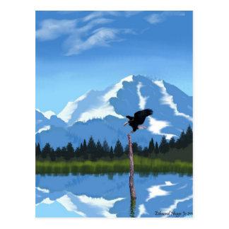 El monte McKinley Alaska Postal