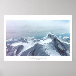El monte McKinley, parque nacional de Denali, Alas Póster