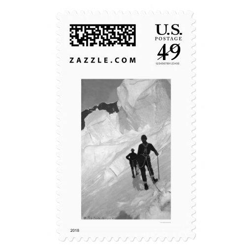 El monte McKinley que sube Alaska 1906 Sellos