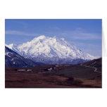 El monte McKinley Tarjeta De Felicitación