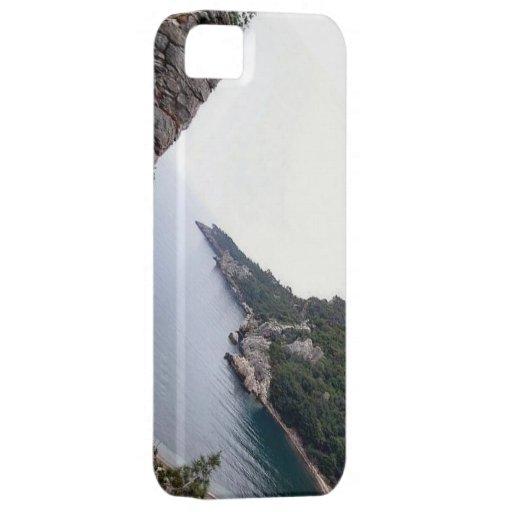 El monte Olimpo, parque del agua de las montañas iPhone 5 Fundas