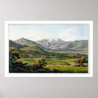 El monte Olimpo, según lo visto entre Larissa y el Póster