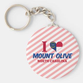 El Monte Olive, Carolina del Norte Llaveros Personalizados