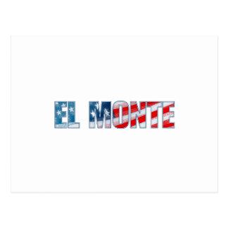 El Monte Postcard