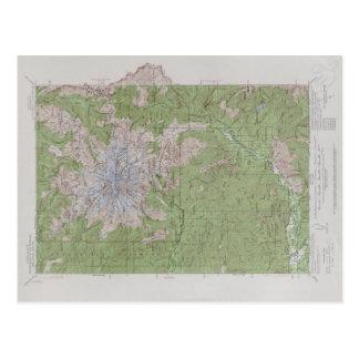 El Monte Rainier (1924) Postal