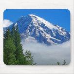 El Monte Rainier de la cala de Kautz Tapetes De Ratón