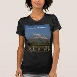 El Monte Rainier en el estado de Washington Camisetas
