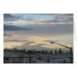 El Monte Rainier en el estado de Washington Felicitaciones